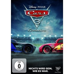 Cars 3 - Evolution, 1 DVD