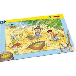 Rahmenpuzzle Piratengold (Kinderpuzzle)