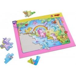 Rahmenpuzzle Einhorn Glitzerglück (Kinderpuzzle)