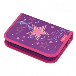 Pencil case 31 pcs Melody Star, Estuche