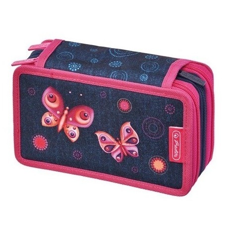 Triple case 31 Butter y Dreams, Estuche triple Mariposas