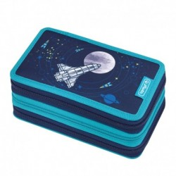 Triple case 31 pcs Space, Estuche triple Espacio