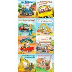 Pixi Bücher, Serie.247, Pixi-Buch 2239-2246 (Pixis bunte Fahrzeuge), 8 Hefte