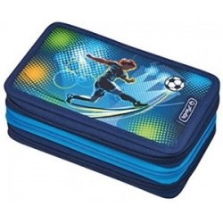 Triple case 31 pcs Futbol, Estuche triple Futbol