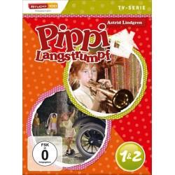 Pippi Langstrumpf TV-Serie, 2 DVD, Tl.1+2