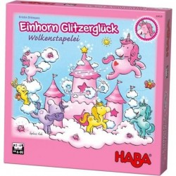 Einhorn Glitzerglück - Wolkenstapelei (Spiel)