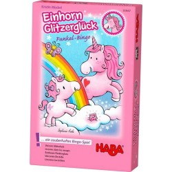 Einhorn Glitzerglück - Funkel-Bingo (Kinderspiel)
