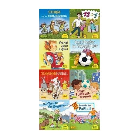 Pixi Bücher, 267, Pixi spielt Fuflball, 8 Hefte