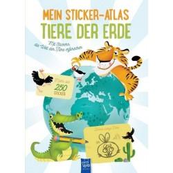 Mein Sticker-Atlas Tiere der Erde