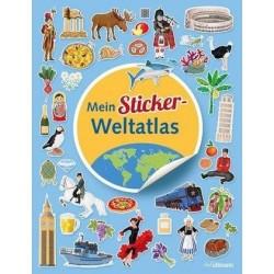Mein Sticker Weltatlas