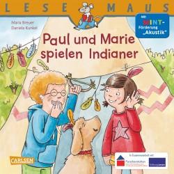 Paul und Marie spielen Indianer