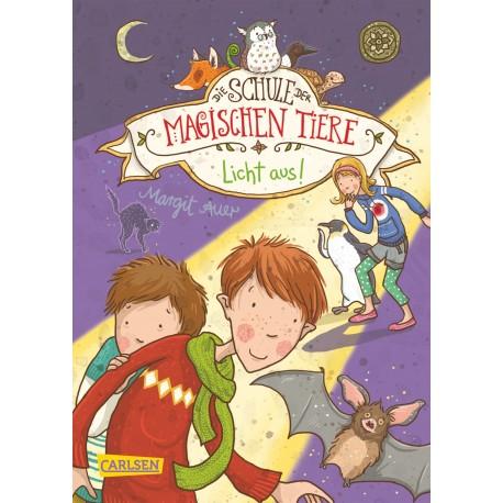 die schule der magischen tiere, band 2 - voller löcher: libro en alemán para niños