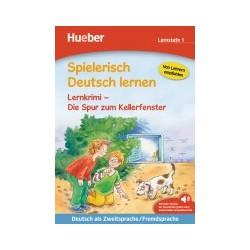 Spielerisch Deutsch lernen, Lernkrimi - Die Spur zum Kellerfenster