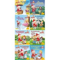 Pixi Bücher, Serie.230, Pixi-Buch Serie 230 (Das Sandmännchen im Märchenwald), 8 Hefte