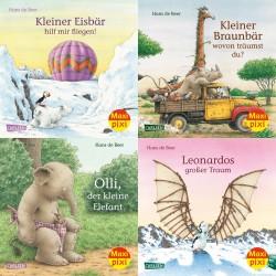 Tiergeschichten von Hans de Beer. 4 Hefte