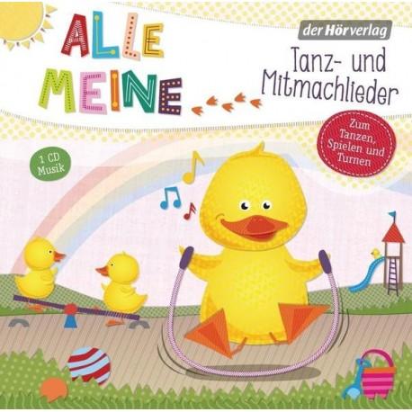 Alle meine..., Tanz- und Mitmachlieder, 1 Audio-CD