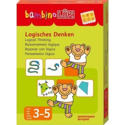 Bambino LÜK, m. bambinoLÜK-Lösungsgerät, Logisches Denken, Set