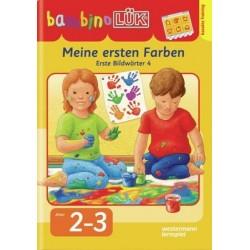 Bambino LÜK, H.9, Meine ersten Farben, Erste Bildwörter 4