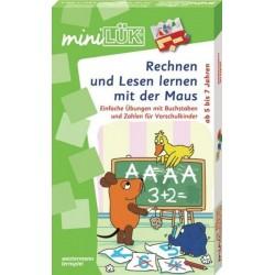 Mini LÜK-Set, Rechnen und Lesen lernen mit der Maus