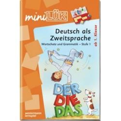 Mini LÜK, Übungshefte, Deutsch als Zweitsprache, Wortschatz und Grammatik - Stufe 1