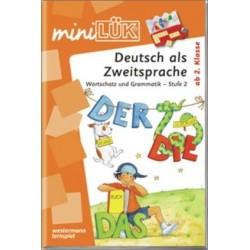 Mini LÜK, Übungshefte, Deutsch als Zweitsprache, Wortschatz und Grammatik - Stufe 2