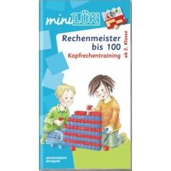 Mini LÜK, Übungshefte, Rechenmeister bis 100
