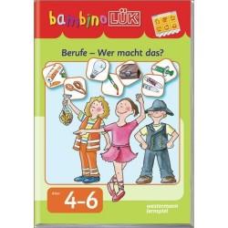 bambino LÜK, H.54, Berufe - Wer macht was?
