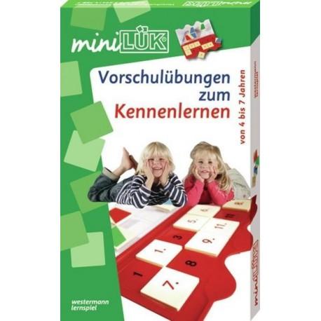 mini LÜK-Set, Vorschulübungen zum Kennenlernen