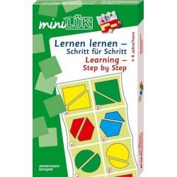mini LÜK-Set, Lernen lernen - Schritt für Schritt