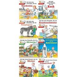 Pixi Bücher, Nr.242, Meine Lieblingsberufe (mit LeYo!), 8 Hefte, Nr.242