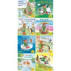 Pixi Bücher, Serie.226, Alles Gute zum Geburtstag, Pixi!, 8 Hefte