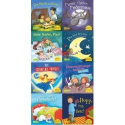 Pixi Bücher, Serie.233, Pixi wünscht Gute Nacht, 8 Bde.