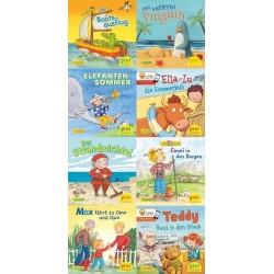 Pixi Bücher, Serie.238, Mit Pixi in die Ferien, 8 Hefte