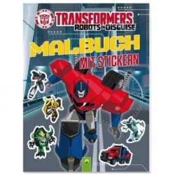 Transformers Robots in Disguise: Malbuch mit Stickern